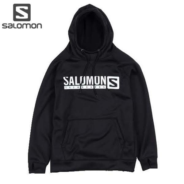 18-19 SALOMON 撥水パーカー MTN LIFE HOODY L40756500: blk 正規品/メンズ/スノーボードウエア/サロモン/snow