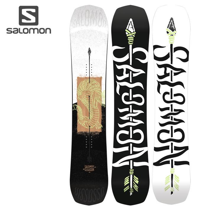 「全品5倍 4日20時~11日02時迄」19-20 SALOMON スノーボード ASSASSIN L40831200:正規品/サロモン/アサシン/メンズ/スノボ/板/snow