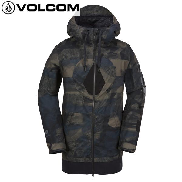 「全品5倍 4日20時~11日02時迄」17-18 VOLCOM ジャケット Hal Jkt g0651808: cam 正規品/ボルコム/メンズ/スノーボードウエア/ウェア/snow/スノボ