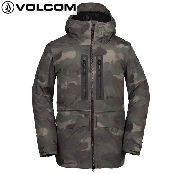 「全品5倍!3月1日0時~23時59分迄」18-19 VOLCOM ジャケット STONE GORE-TEX JACKET g0651903: cam 正規品/ボルコム/メンズ/スノーボードウエア/ウェア/snow/スノボ