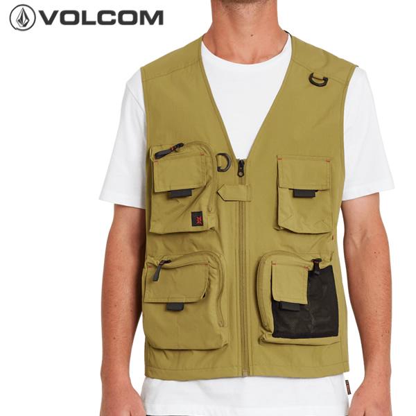 機能的なポケットを備えたフィッシングベスト 全品5倍 12日迄 21SS VOLCOM フィッシングベスト Loose Trucks cat-fs メンズ Vest 釣り 初売り 正規品 ボルコム 品質保証 a1812100: