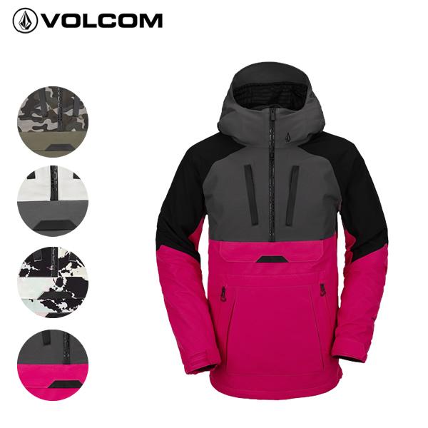 レトロなプルオーバースタイリング 全品5倍 12日迄 20-21 VOLCOM 通常便なら送料無料 ジャケット BRIGHTON PULLOVER スノボ snow ウェア スノーボードウエア ボルコム メンズ g0652106: 正規品 低価格化