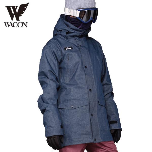 18-19 WACON ジャケット EKLINAR : D.NVY 国内正規品/メンズ/ワコン/スノーボード/ウエア/ウェア/snow/スノボ