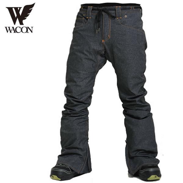 「全品5倍 4日20時~11日02時迄」19-20 WACON パンツ SFIDA : D.BLK 正規品/メンズ/ワコン/スノーボード/ウエア/ウェア/snow/スノボ