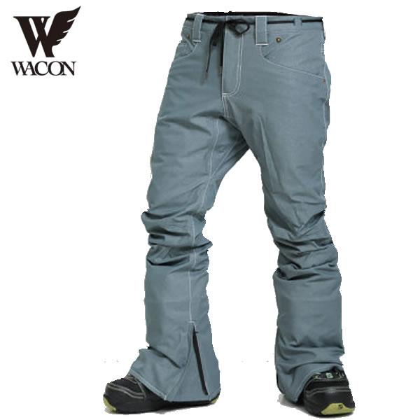 19-20 WACON パンツ SFIDA : DL.Blue 国内正規品/メンズ/ワコン/スノーボード/ウエア/ウェア/snow/スノボ
