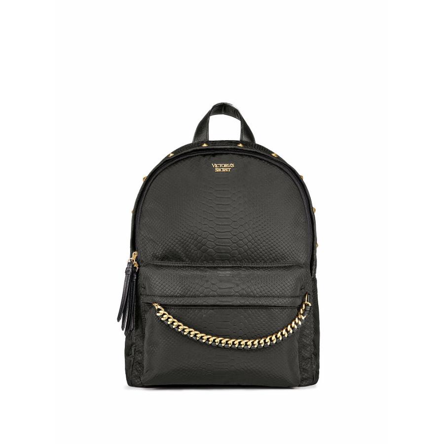 ヴィクトリアシークレットパイソンスタッズシティバックパック/リュックNylon Python Stud City Backpack