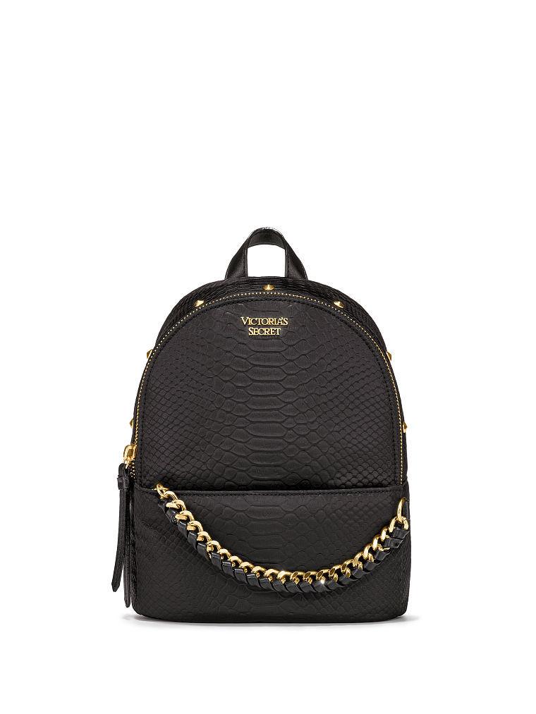 ヴィクトリアシークレットパイソンスタッズスモールシティバックパック/リュックNylon Python Stud Small City Backpack