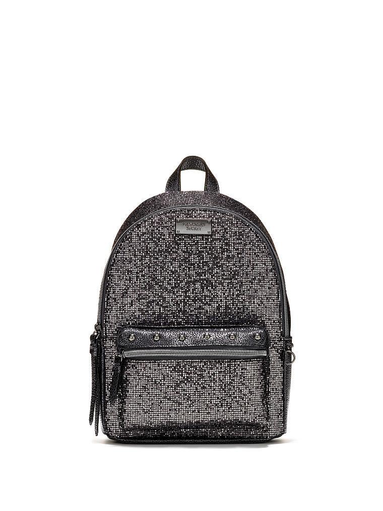 ヴィクトリアシークレットグリッターメッシュスモールシティバックパック/リュックGlitter Mesh Small City Backpack