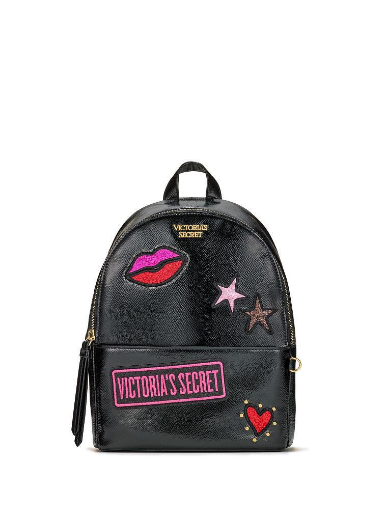 ヴィクトリアシークレットVSパッチスモールシティバックパック/リュックVS Patch Small City Backpack