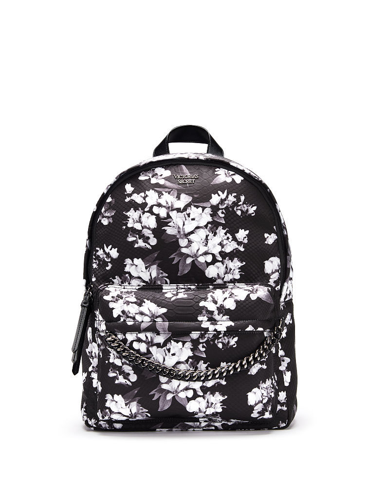 ヴィクトリアシークレットミッドナイトブルームバックパック/リュックMidnight Blooms City Backpack