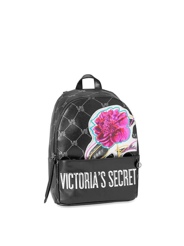 ヴィクトリアシークレットVSモノグラムスモールシティバックパック/リュックVS Monogram Small City Backpack