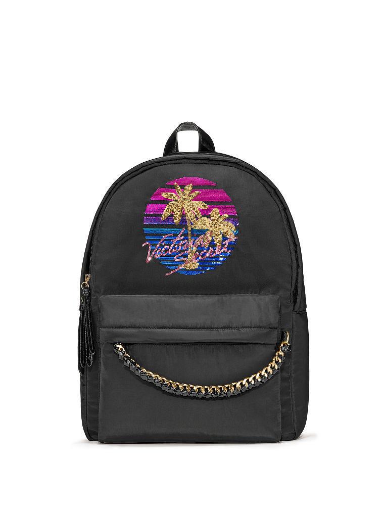 ヴィクトリアシークレットVictoria's secretティーズシティバックパック/リュックGraphic Tease City Backpack