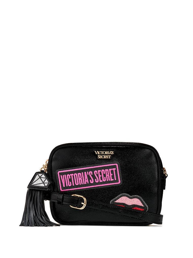 ヴィクトリアシークレットVictoria's SecretVSパッチコンバーチブルシティクロスボディベルトバッグVS Patch Convertible CityCrossbody Belt Bag
