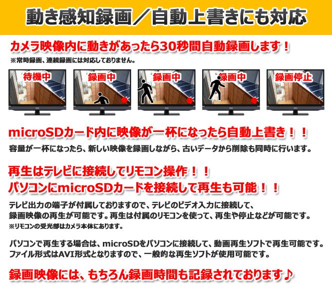 不需要支持監視照相機SD卡錄影的錄影裝置! 不要活動察覺防水重復錄影紅外線LED暗視記錄機的secuOn