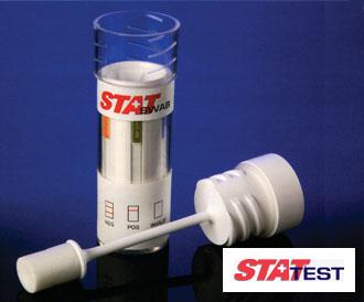 唾液による薬物検査キットSTAT SWAB 1個