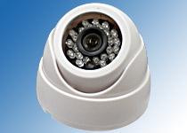 赤外線LED搭載 高画質 高解像度 LED搭載ドームカメラ 48万画素
