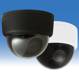 WTW-D1013H ☆41万画素 3DNR機能搭載 ドームカメラ ☆約24~81度 まで水平角度を調整可能 WTW-D1013H/ブラック WTW-D1013H-W/ホワイト