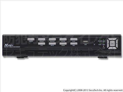 2000GB搭載 デジタルHDDレコーダー 16ch H.264圧縮 ネットワーク 2TB内臓レコーダー 防犯カメラ録画機