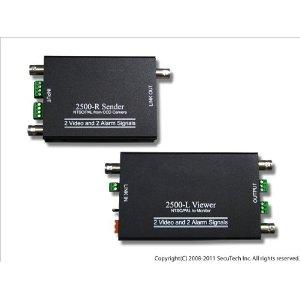VDS2500 カメラ2台分の映像 電源を1本のケーブルで長距離配線 送料無料 代引き不可商品