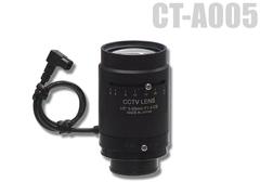 CT-A005 DCアイリス望遠レンズ(f=5~55mm) 防犯カメラ用レンズ 監視カメラ用レンズ
