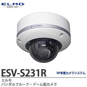 ESV-S231R 屋外設置ドームカメラ