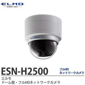 ESN-H2500 ドーム型防犯カメラ 本体SDカード記録+統合ビューワー トリプルストリーム配信 212万画素 音声双方向通信