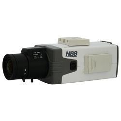 NSS-NSC1000WDVP 送料無料 ボックス型防犯カメラ 48万画素 同軸ケーブル利用で最大400mまで延長可能