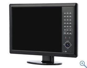 NSD2008 アウトレットセール 送料無料 デジタルレコーダー8ch 防犯カメラレコーダー 残り在庫わずか! 19インチモニター モニター&レコーダー 19インチ液晶