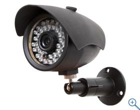 フルハイビジョンで高画質!NSC-HD6043-F 送料無料 屋外防犯カメラ 赤外線カメラ 赤外線照射距離は最大25m IP67規格準拠で防水、防塵 デジタルWDR機能搭載
