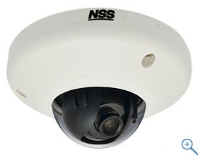 NSC-IP1033-3M 送料無料 防犯カメラ専門店SKS 防犯カメラ周辺機器ネットワークカメラ 3メガピクセルミニドーム型ネットワークカメラ