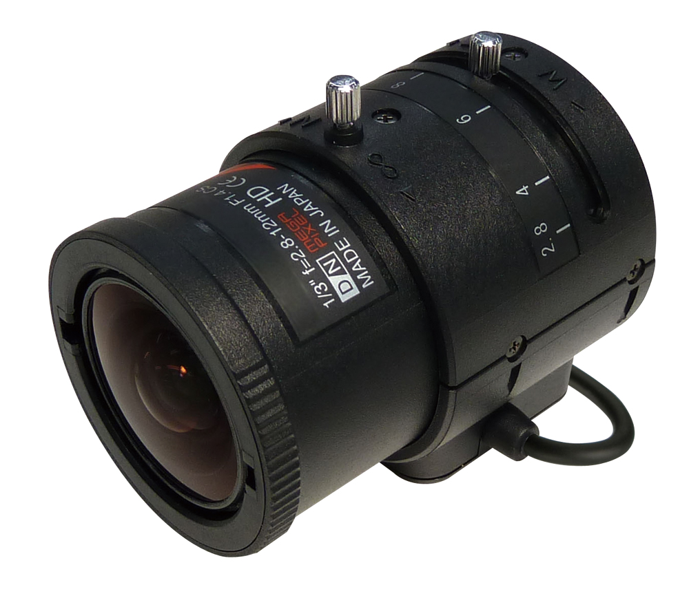 PF-EC012J オートアイリスレンズ防犯カメラレンズ 送料無料日本防犯システム BOXカメラレンズ