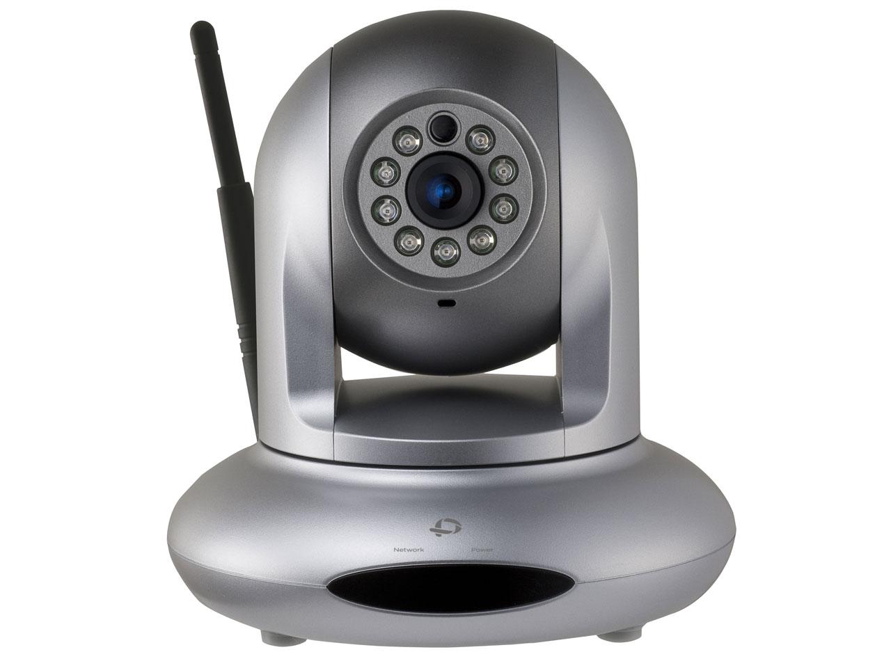 監視カメラ Wi-Fi 有線対応ネットワークカメラ