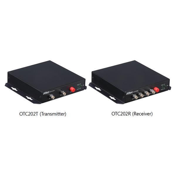 CVD-OTC202 2ch 光伝送ユニット (T/Rセット) ロスレス非圧縮リアルタイム伝送