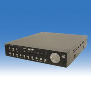 防犯レコーダー 監視カメラ WTW-DV684 IPhone携帯での遠隔表示に対応 EMAILアラーム機能 遠隔操作 防犯カメラ ペットカメラ CCTV RecIRder 録画機