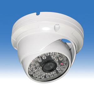 赤外線ドームカメラ WTW-RD1548N 赤外線カメラで水平視野角度が約67度角度が広い
