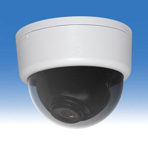 WTW-D33FW ホワイト 52万画素高感度ドームカメラ 約24~81度まで水平角度を調整可能