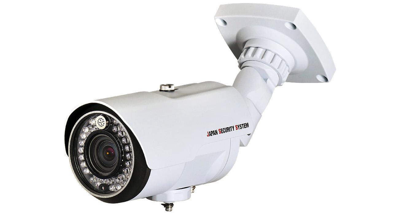 JS-CA1020 AHDカメラ AHDカメラ防犯カメラ AHD対応2.2メガピクセル屋外IRカメラ 日本製 防犯カメラ メーカー 日本防犯システム