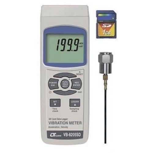 VB-8205SD SDデータロガデジタル振動計 安心のメーカー保証 マザーツール専門店