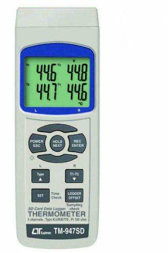 TM-947SD SDデータロガデジタル温度計(4CH) 安心のメーカー保証 マザーツール専門店
