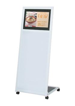 18.5型ディスプレイ搭載独立型デジタルサイネージ 【液晶看板】 【メーカー保証付】 動画看板