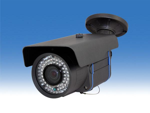 屋外対応 HD-SDI防犯カメラ 220万画素の高画質 8倍デジタルズーム機能搭載 モーション検知機能搭載