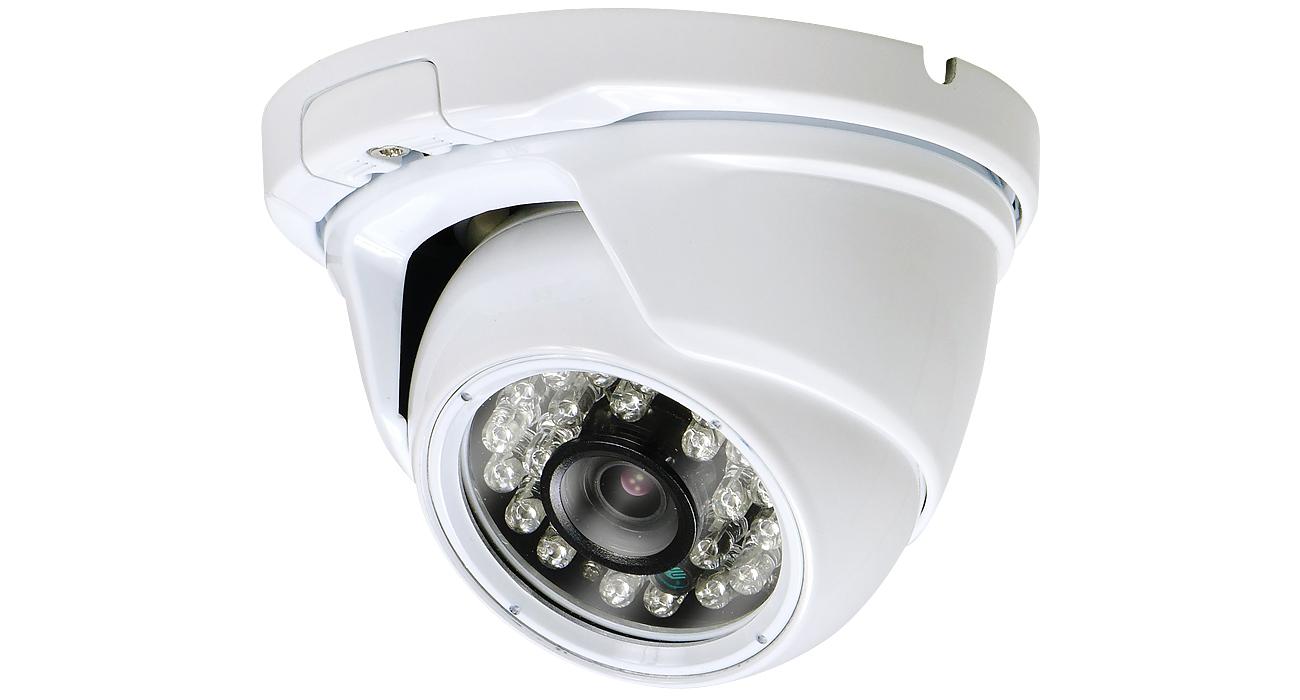 PF-AHD1221F AHD対応1.3メガピクセル屋外IRドームカメラ AHD/CVBS切替により、従来のアナログレコーダーへの出力も可能 安心の日本製
