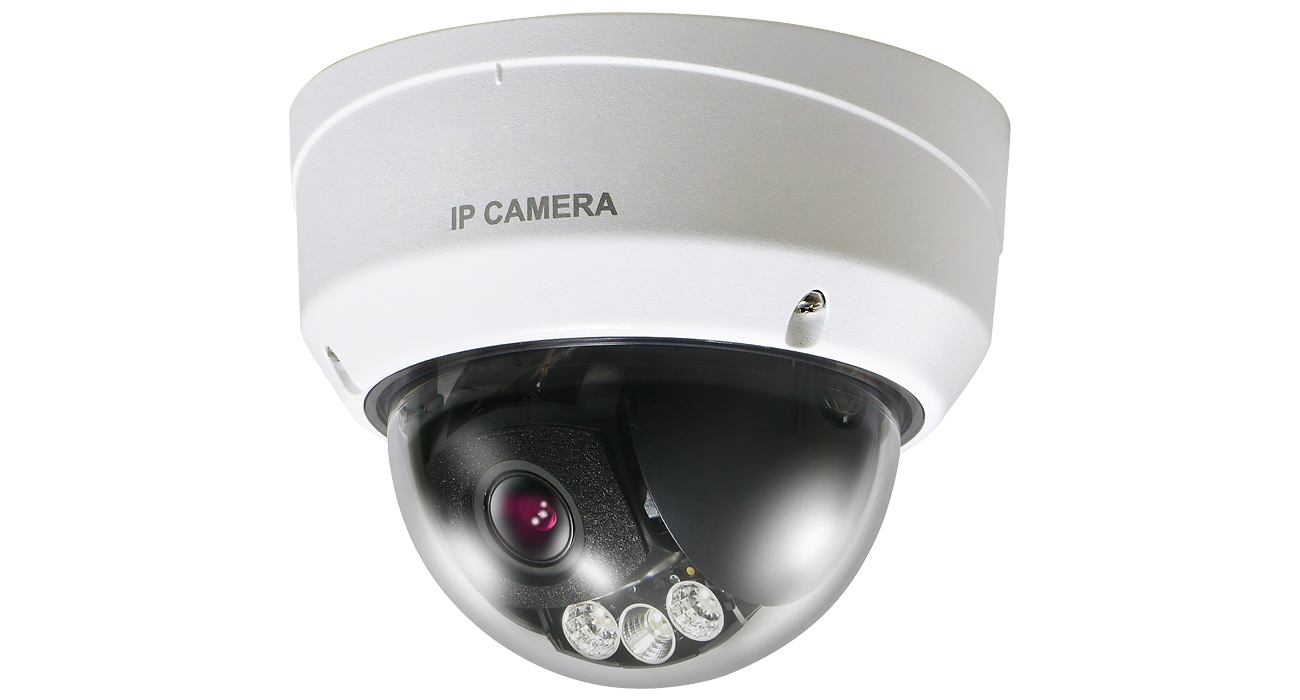 PF-IM542B ネットワークカメラ 屋外対応 2メガピクセルネットワークドームカメラ