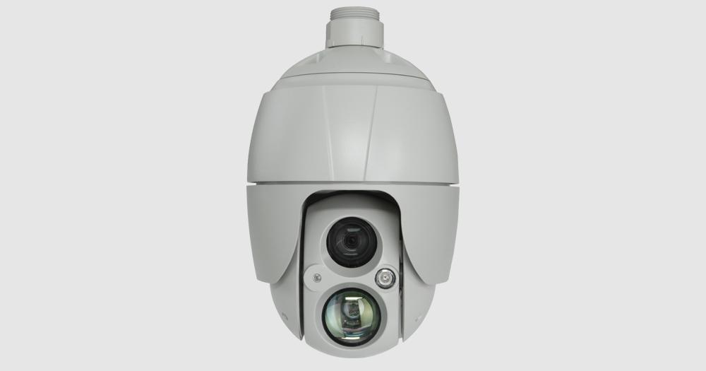 PF-AHD809 御見積いたします! AHD対応2.2メガピクセル耐衝撃設計屋外IR PTZカメラ 高画質映像をそのままに最長で約300m遠方まで送信可能 ハイスピードドームカメラ
