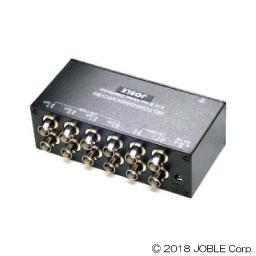 CD408HD AHD/HD-TVI/HDCVI/コンポジット対応 4入力各2出力映像分配器(UTC対応) NS-7604の代替え機として 防犯カメラ映像分配器