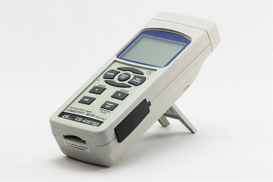 CD-4307SD SDスロットを搭載したデータロガマルチ水質測定器 多彩な測定モード。 (データホールドMax・Min表示)