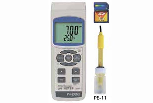 PH-230SD SDデータロガデジタルPHメータ 安心のメーカー保証 マザーツール専門店