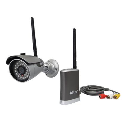 AT-6130  デジタル無線カメラセット! 【屋外設置対応】 設定不要 【最大200mの電波到達距離】 防水+音声+夜間撮影