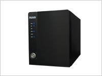 nuuo NSV604 日本語メニュー メガピクセルのIPカメラに対応4ch NASベース型 NVR 最大64チャンネルの遠隔ライブ映像表示 多くのメーカーのIPカメラと互換性有り 希望小売価格 317,520円
