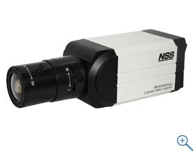 NSC-AHD900 【AHDボックス型カメラ】 1280×720解像度を有するAHDカメラ デイナイト機能搭載 WDR機能搭載(逆行補正) Sony製センサー レンズ別売り